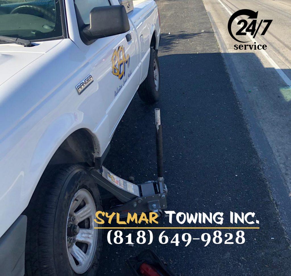 Towing Sylmar